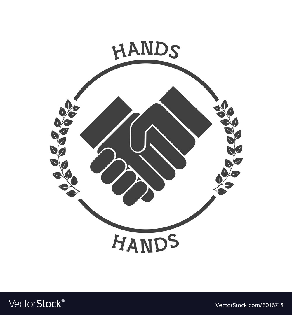 Hand pictogram vector