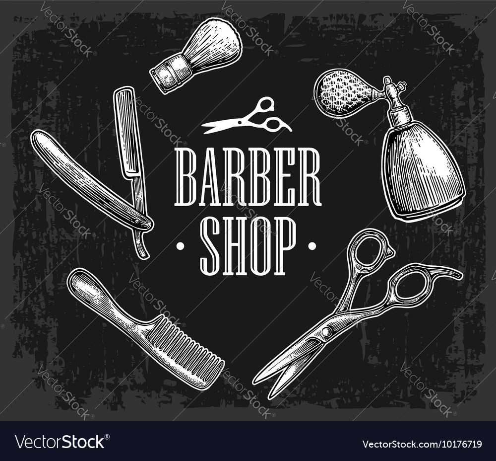 Set tool for barbershop vector