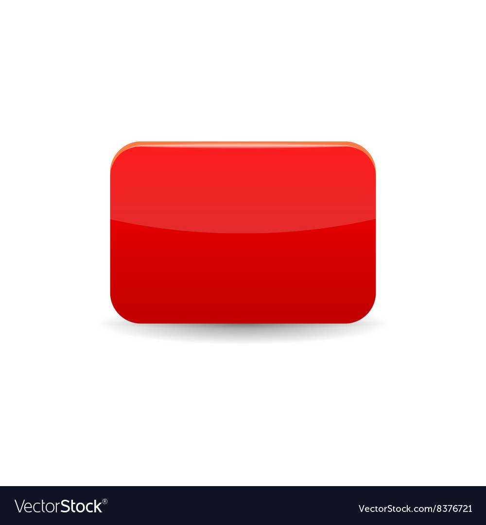 Red card icon cartoon style vector