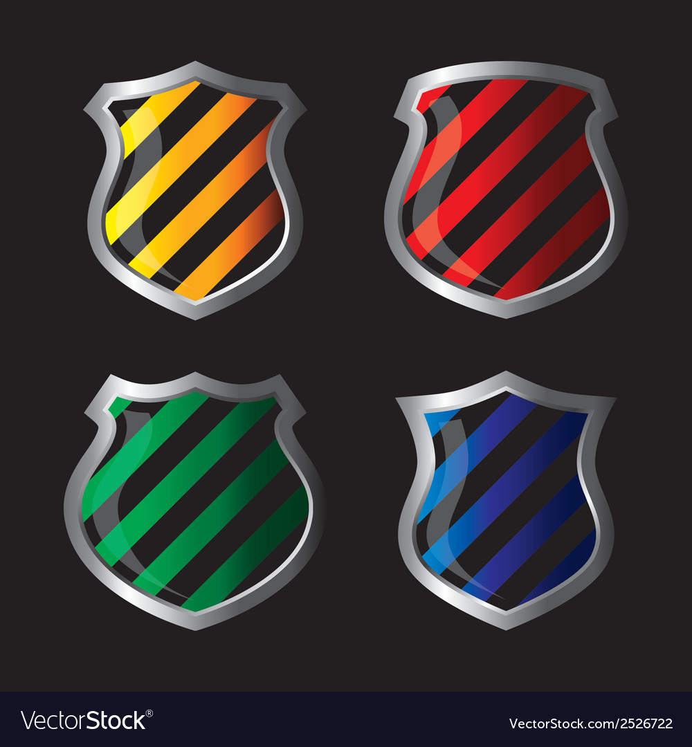 Shield emblem vector