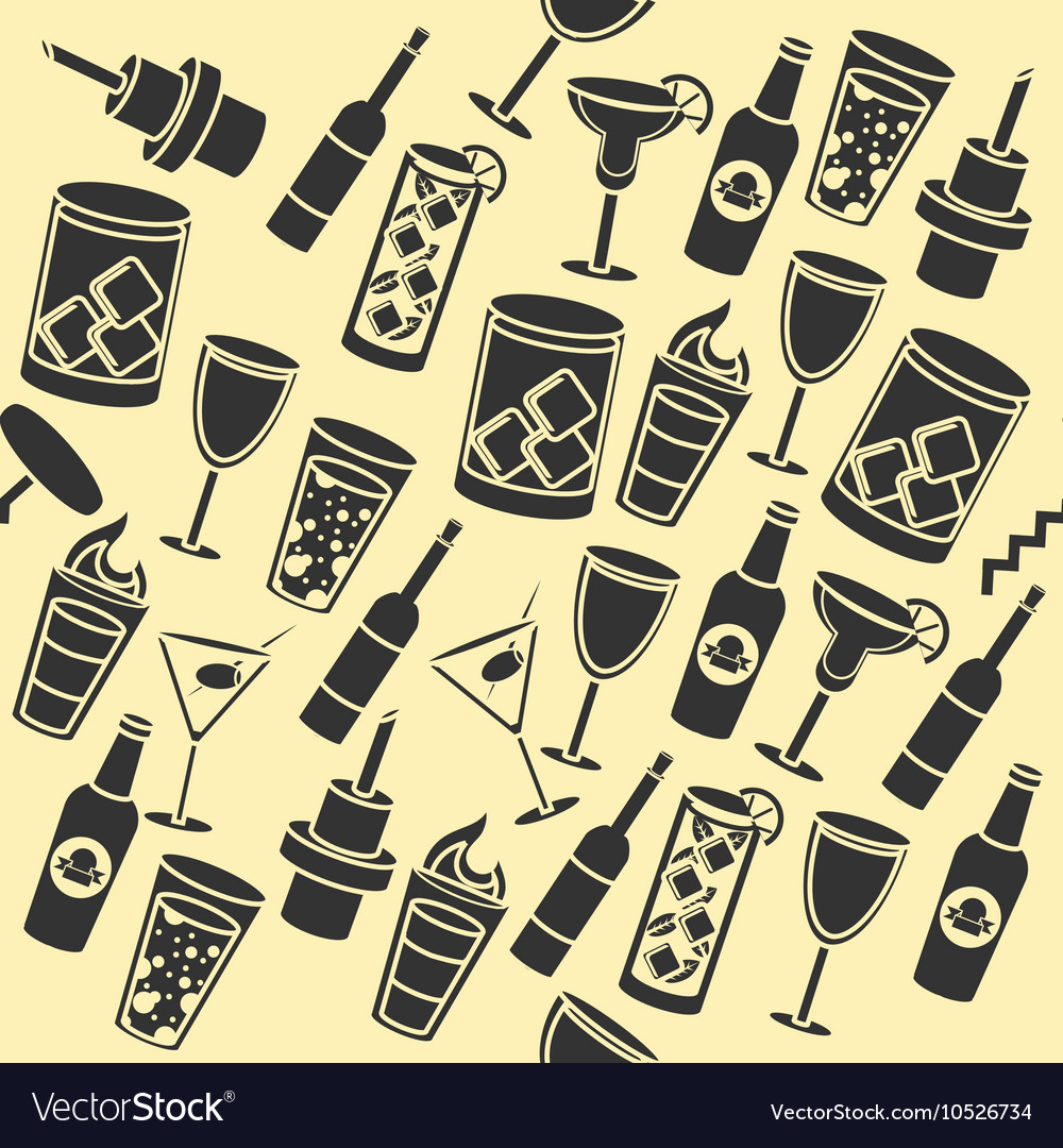 Bar set pattern vector