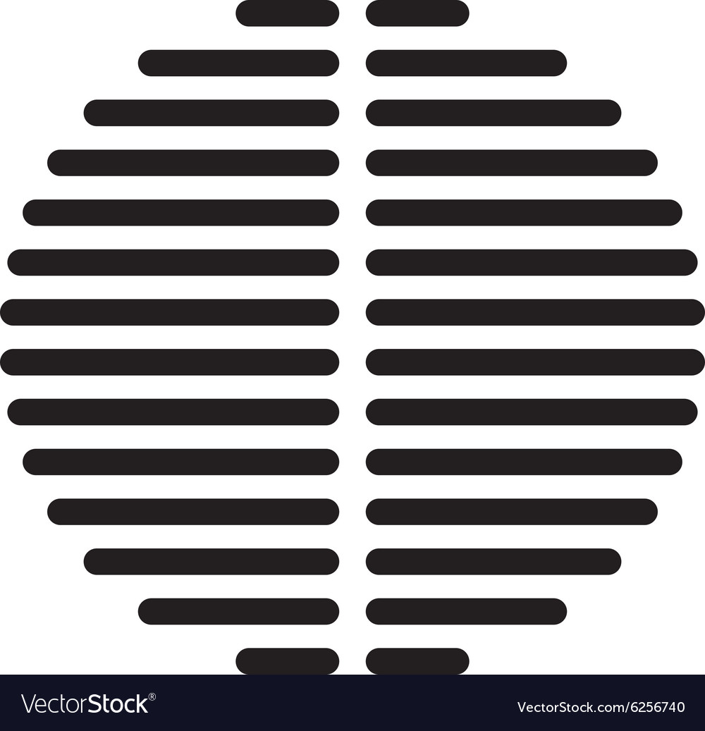 Speaker dynamic black grille template vector
