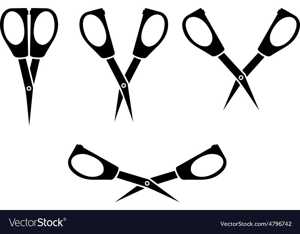 Scissors little vector