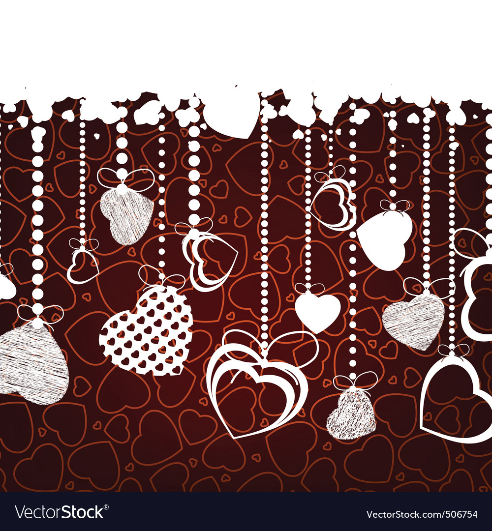 Valentine background with copy space eps 8 vector