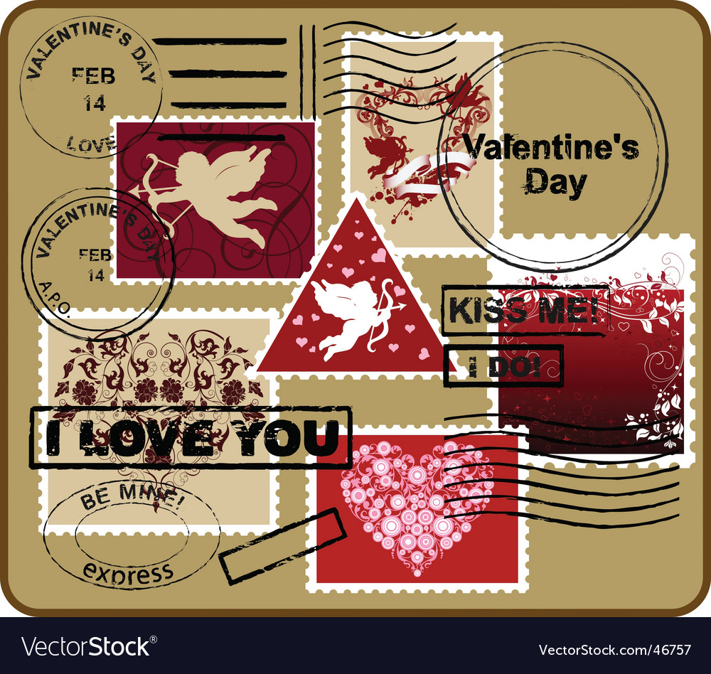 Design elements valentines day vector