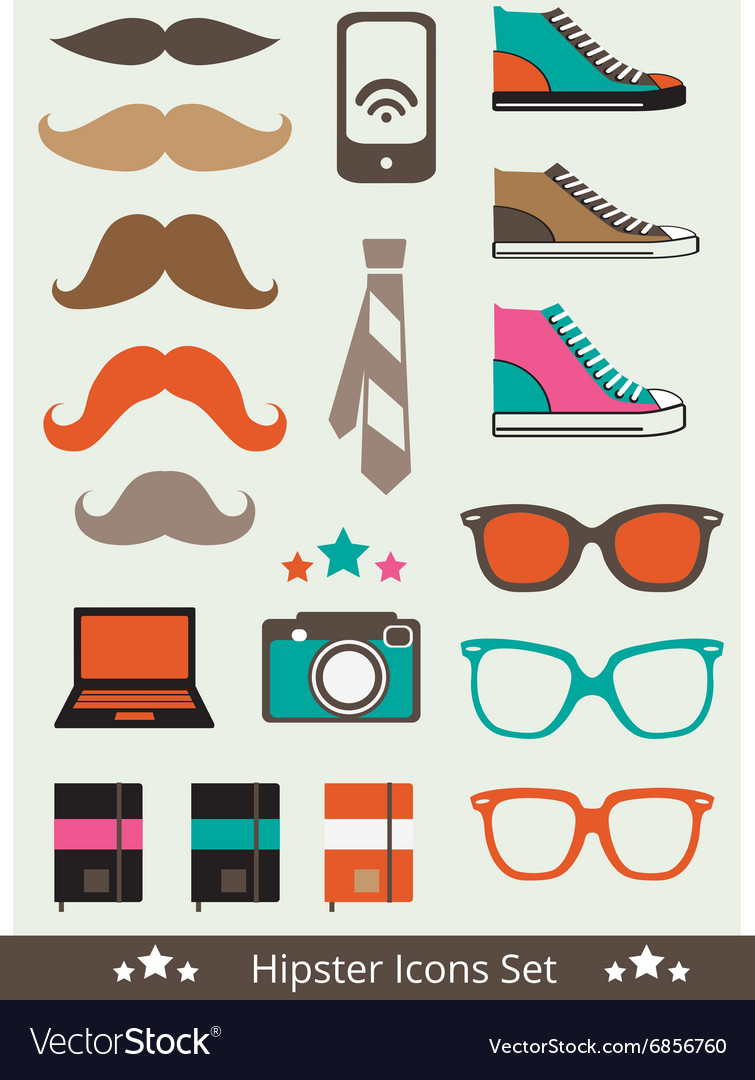 Hipstericons vector