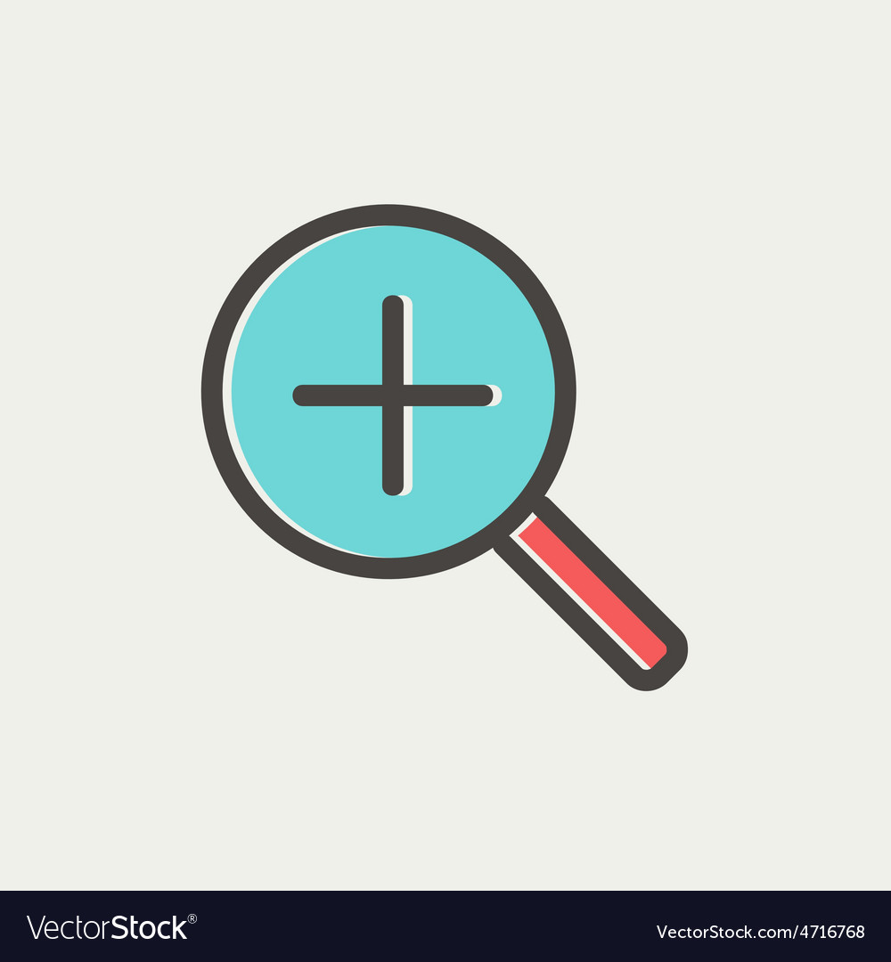 Increase the volume thin line icon vector