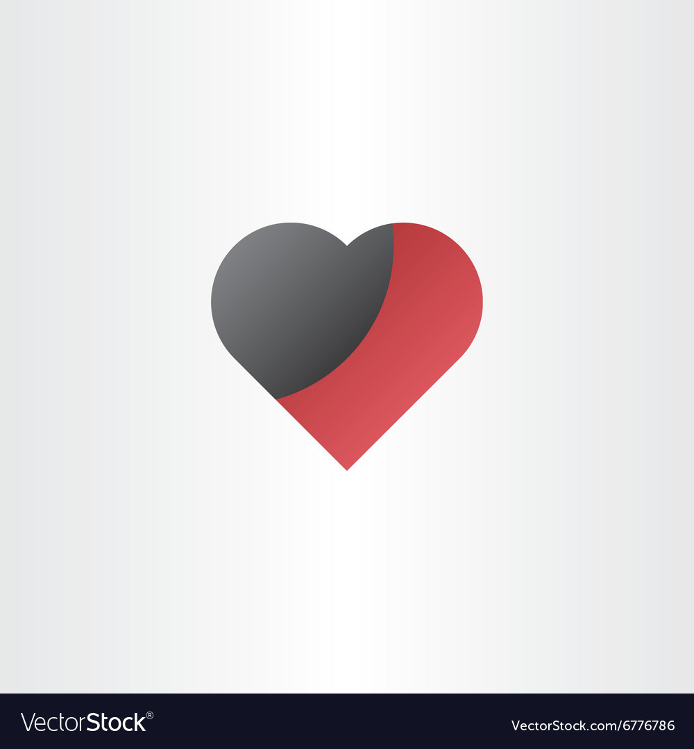 Damaged heart love hurts concept vector