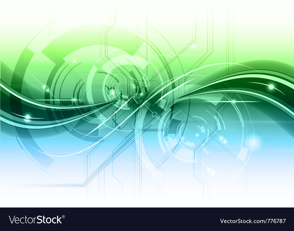 High technology background vector