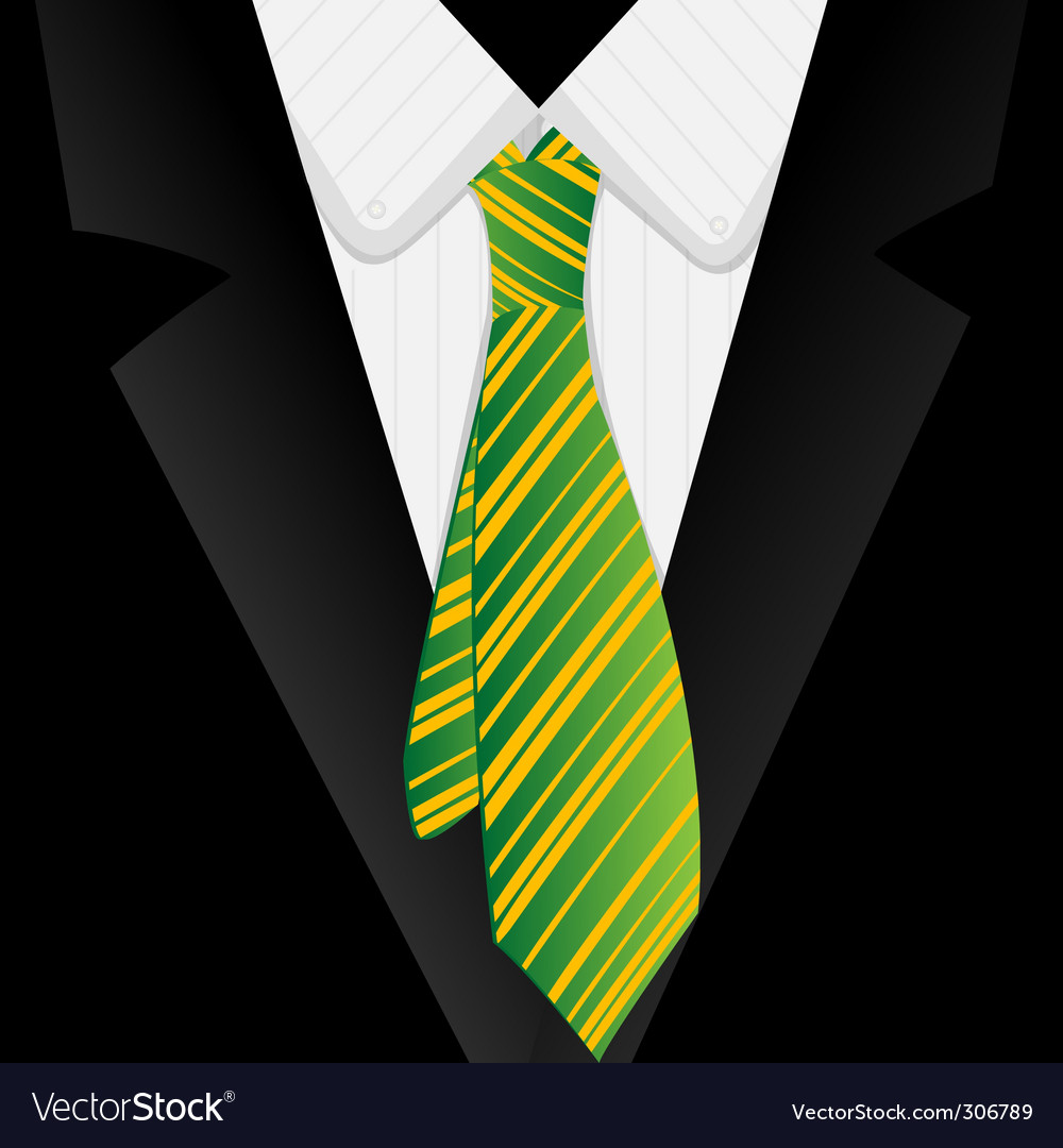 Business tie vector