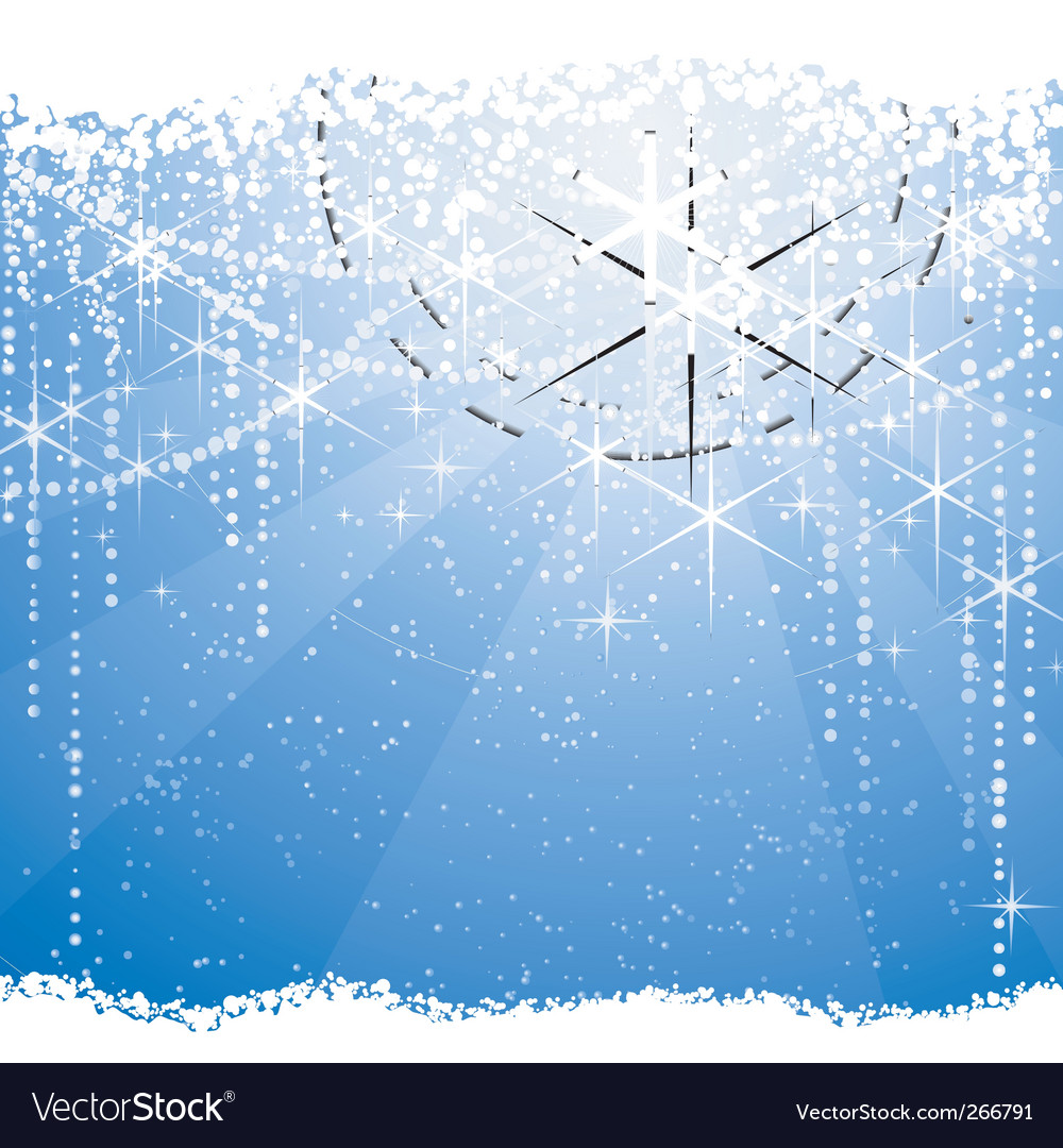 Christmas winter theme vector