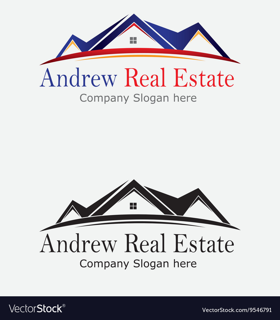 Property real estate logo vector