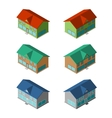 Apartment houses vector image
