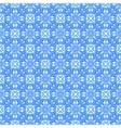 Blue ornament pattern vector image