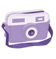 fashion handbag icon hand bag icon isolated vector image