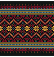 Ukrainian ethnic stitch pattern Ethnic ornament vector image