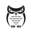 Owl design on a white background vector image vector image