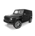 black big representative jeep vector image