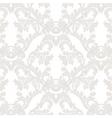 Vintage Baroque floral Damask pattern vector image