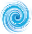 blue swirling texture vector image