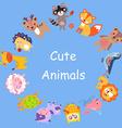 CuteAnimals vector image