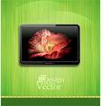 lcd plasma tv vector image vector image