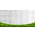 grass border big set vector image vector image