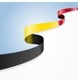 Belgian flag background vector image vector image