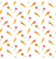 candy and ice cream seamless pattern vector image