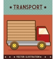 Vehicle transport icon vector image