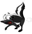 cartoon character skunk vector image