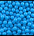 blue balls background vector image