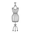 Fashionable dummy vector image