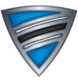steel shield botswana vector image