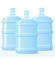 distill water bottle vector image