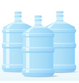 distill water bottle vector image
