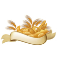 Bakery products vector image vector image