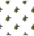 anubis head pattern seamless vector image