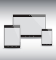 Tablets Template Set vector image