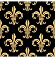 Beige and black seamless pattern vector image