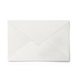 Sealed white envelope isolated on white background vector image