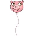 A pig balloon vector image