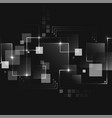 abstract dark futuristic business technology vector image