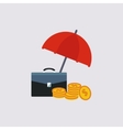 Financial Insurance vector image