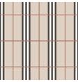 Tartan seamless pattern beige vertical vector image