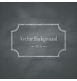 Chalkboard retro background vector