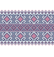 Ukrainian ethnic stitch pattern Ethnic ornament vector image