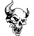 skull - halloween set - vector image