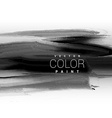 black dark ink paint background design vector image