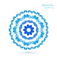 snowflake flower folk style vector image